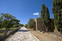 Quarter of the Roman villas Royalty Free Stock Photos