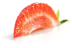 Quarter of Strawberry. Stock Photography