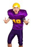 Quarterback Royalty Free Stock Photography