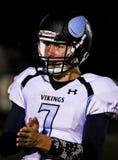 quarterback Fotografie Stock