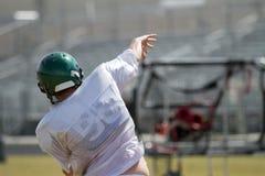 Quarterback-Ausbildungsanlageen Lizenzfreies Stockfoto