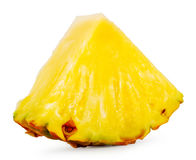 Quartered ripe pineapple Royalty Free Stock Image