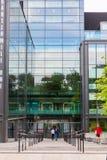 Quartermile大厦在爱丁堡,英国 图库摄影