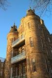 Quartermile, vecchia infermeria reale di Edinburgh immagini stock libere da diritti