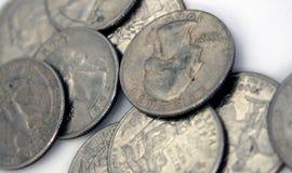 Quarters. Close Up Stock Photo