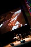 Quarteto de John Scofield, festival 2010 de ZaJazz imagens de stock