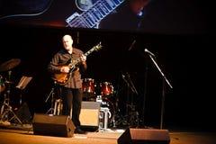 Quarteto de John Scofield, festival 2010 de ZaJazz fotografia de stock royalty free