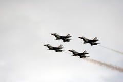 Quarteto de Thunderbird Imagem de Stock