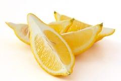 Quarti del limone Fotografia Stock