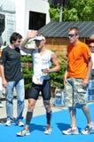 quarti Triathlon del d'Huez del FES Alpe Immagini Stock Libere da Diritti