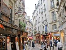 quartier拉丁的巴黎 库存图片