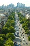Quartier DE La Defense, Parijs royalty-vrije stock afbeeldingen