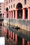 Quartier des docks Liverpool Photo libre de droits