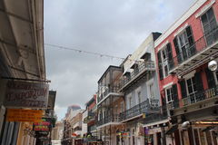 Quartier français de la Nouvelle-Orléans photographie stock