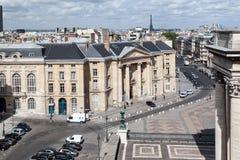 Quartier latin Paris Frankrike Arkivbilder