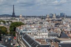Quartier latin Paris Frankrike Royaltyfria Bilder