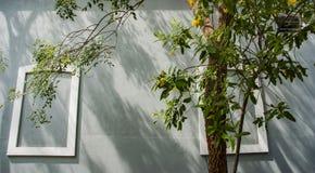 Quartiere francese di Pondicherry, India fotografia stock