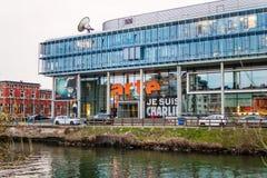 Quartiere generale della televisione di ARTE Fotografia Stock
