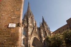 Quartiere ispanico Gotico Immagine Stock Libera da Diritti