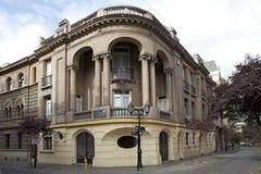Quartiere ispanico Parigi-Londres a Santiago, Cile Fotografia Stock Libera da Diritti