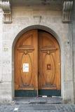 Quartiere ispanico Parigi-Londres a Santiago, Cile Immagini Stock