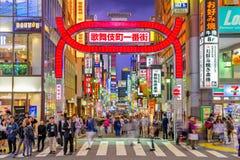 Quartiere a luci rosse di Shinjuku Fotografie Stock Libere da Diritti
