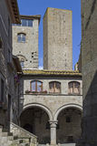 Quartiere San Pellegrino in Viterbo Royalty Free Stock Photos