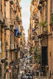 Quartieri spagnoli in Naples Stock Photo