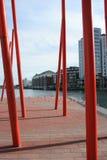 Quartiers des docks photo stock