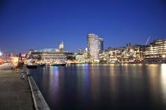 Quartiers des docks de Melbourne Images libres de droits