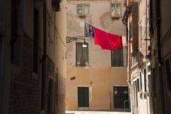 Quartiers vivos de Venecia Fotos de archivo