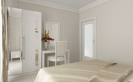 quarto 3d Fotografia de Stock Royalty Free