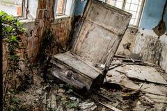 Quarto abandonado Fotografia de Stock Royalty Free