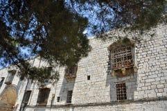 Quarto arménio em Jerusalem fotos de stock