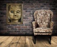 Quarto assustador Fotografia de Stock Royalty Free
