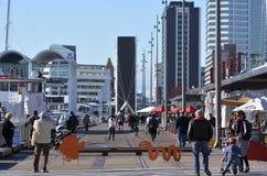 Quarto Auckland - Nova Zelândia de Wynyard fotos de stock royalty free