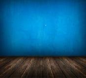 Quarto azul foto de stock