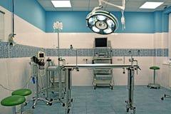 Quarto cirúrgico veterinário Fotos de Stock Royalty Free