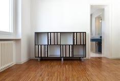 Quarto com mobília foto de stock