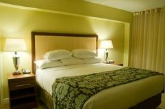 Quarto confortável do hotel Fotos de Stock
