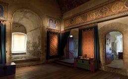 Quarto da câmara dos reis do castelo de Dôvar Fotos de Stock