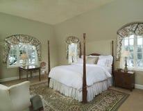 Quarto da cama Foto de Stock Royalty Free