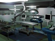 Quarto da cirurgia ilustração do vetor