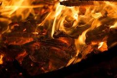 Quarto da fogueira de julho Fotos de Stock Royalty Free