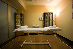 Quarto da massagem foto de stock royalty free