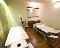 Quarto da massagem Foto de Stock
