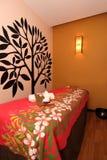 Quarto da massagem dos termas Fotografia de Stock