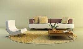 Quarto da sala de estar Imagem de Stock