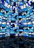 Quarto da tecnologia Imagens de Stock Royalty Free
