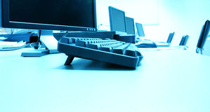Quarto de computador Imagens de Stock